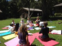 Edu Camp Marya Yoga with kids