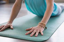 YOGA TO RELIEVE PAIN PHOTO